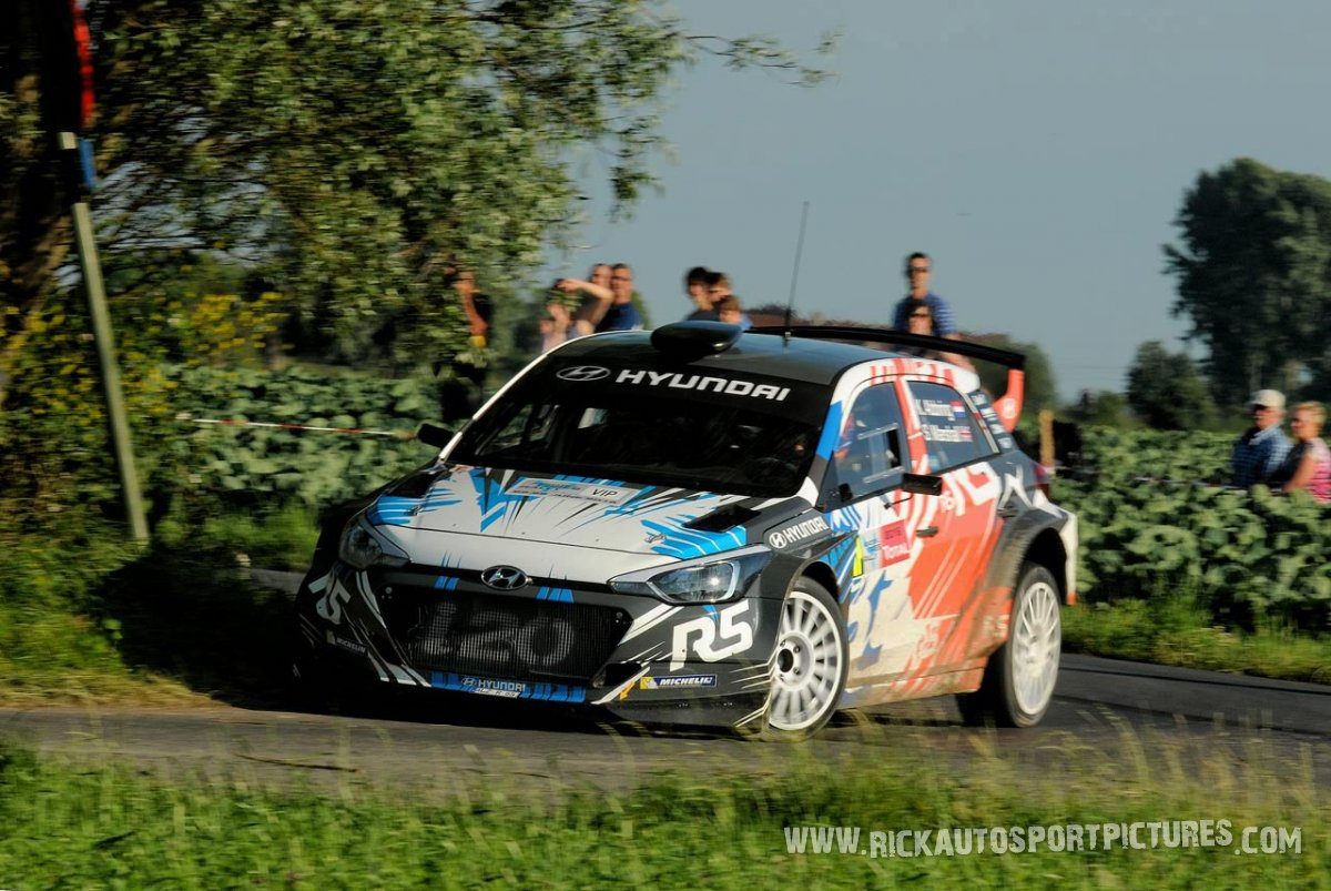 Kevin Abbring ypres ieper rally 2016