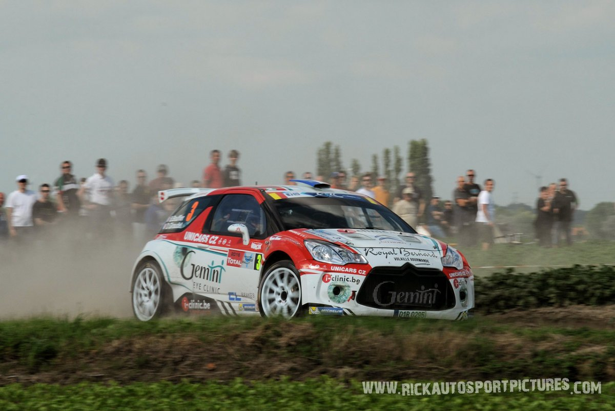 Bryan Bouffier Ypres Ieper Rally 2016