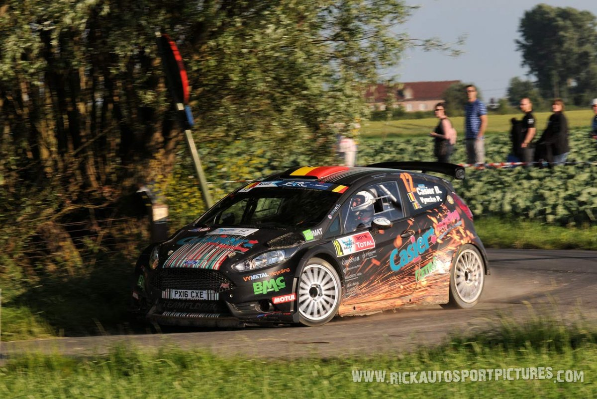Bernd Casier Ypres Ieper Rally 2016