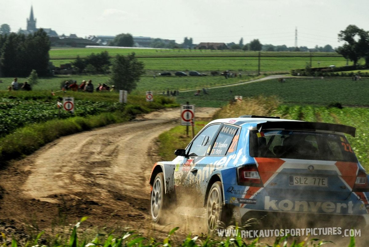 Didier Duquesne ypres ieper rally 2016