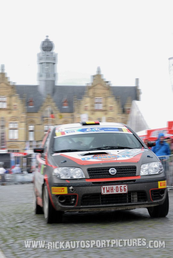 Stephan Hermann ypres ieper rally 2016