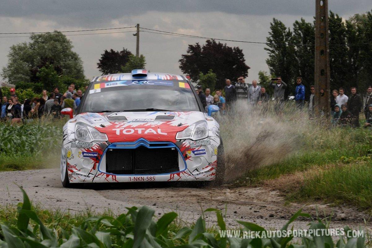 Stéphane Lefebvre ypres ieper rally 2016