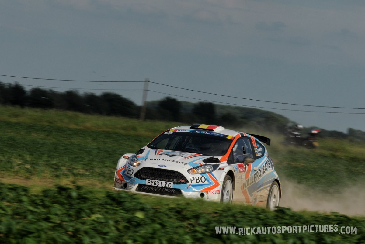 Bruno Parmentier ypres ieper rally 2016