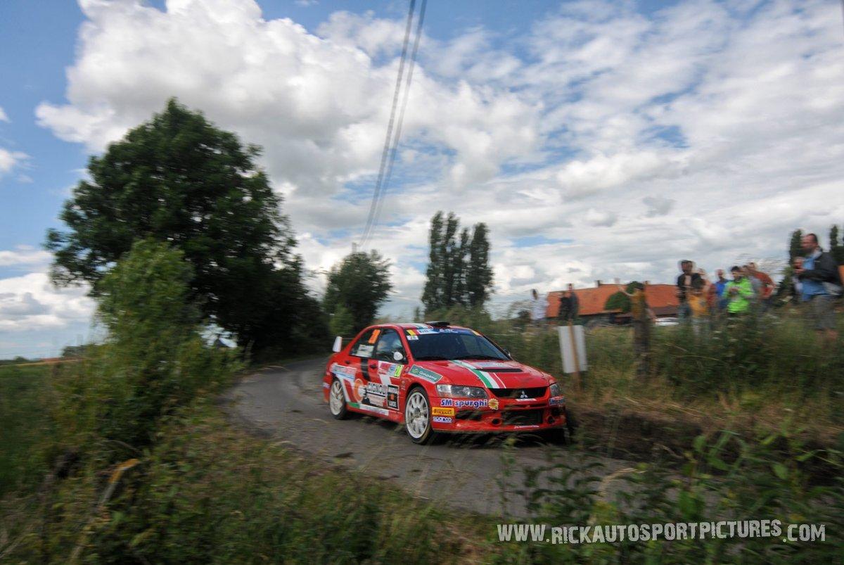 Giacomo Scattolon ypres ieper rally 2016