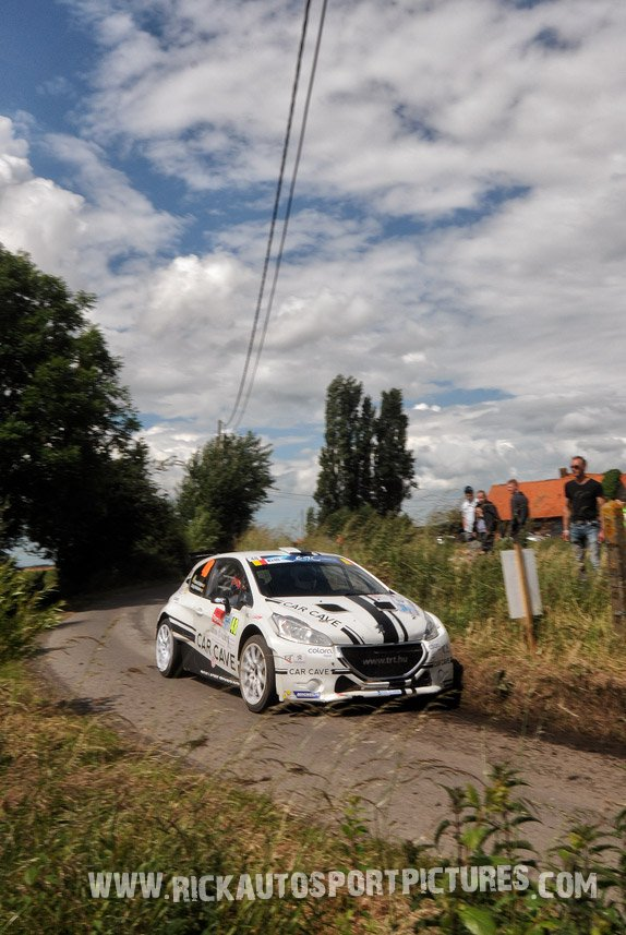 Patrick Snijers Ypres Ieper Rally 2016
