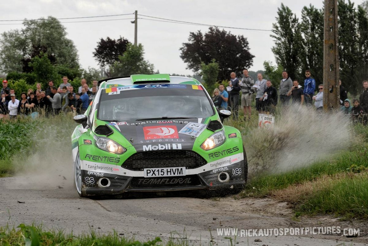 Claudie Tanghe ypres ieper rally 2016