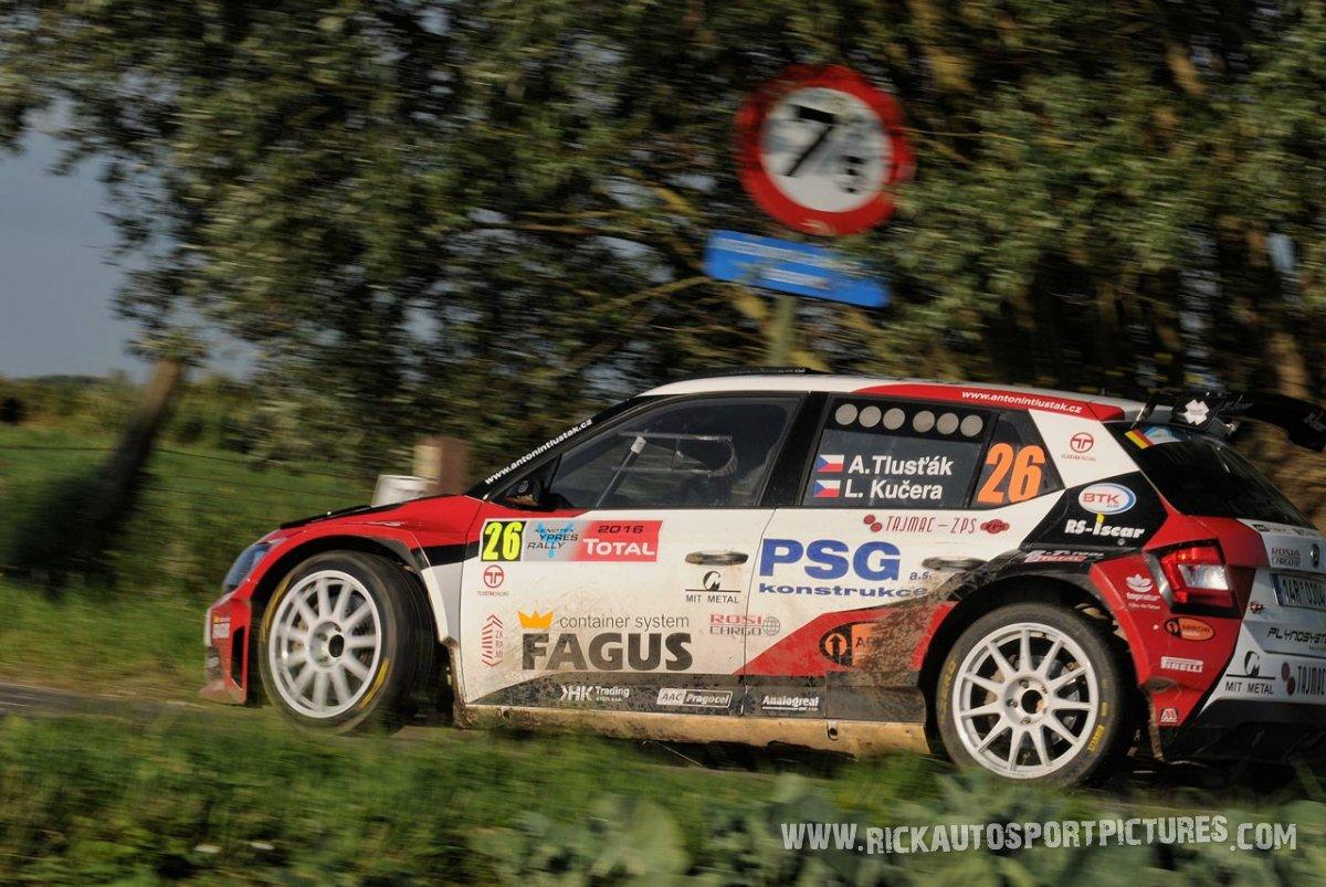 Antonin Tlustak Ypres Rally 2016