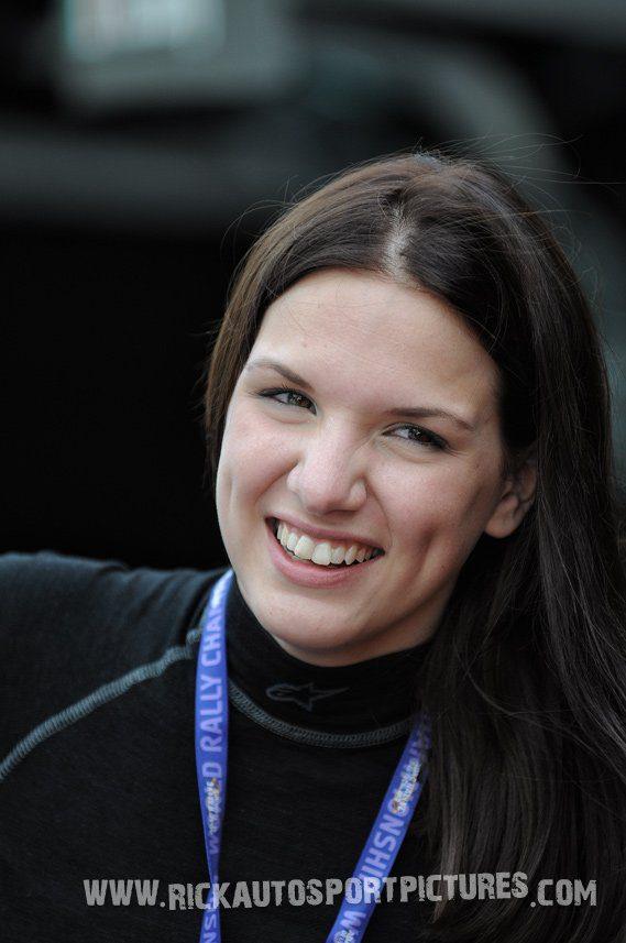 Eve Wallenwein Deutschland Rally 2016