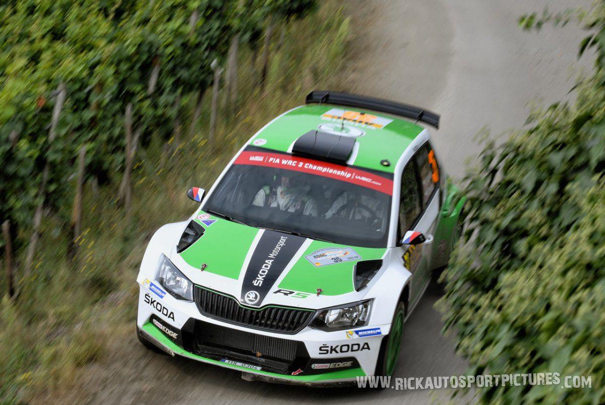 Jan Kopecký Deutschland Rally 2016