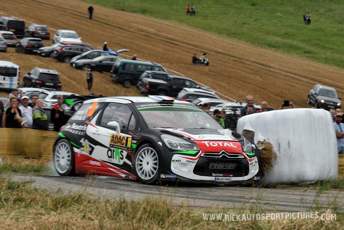 Stéphane Lefebvre Deutschland Rally 2016