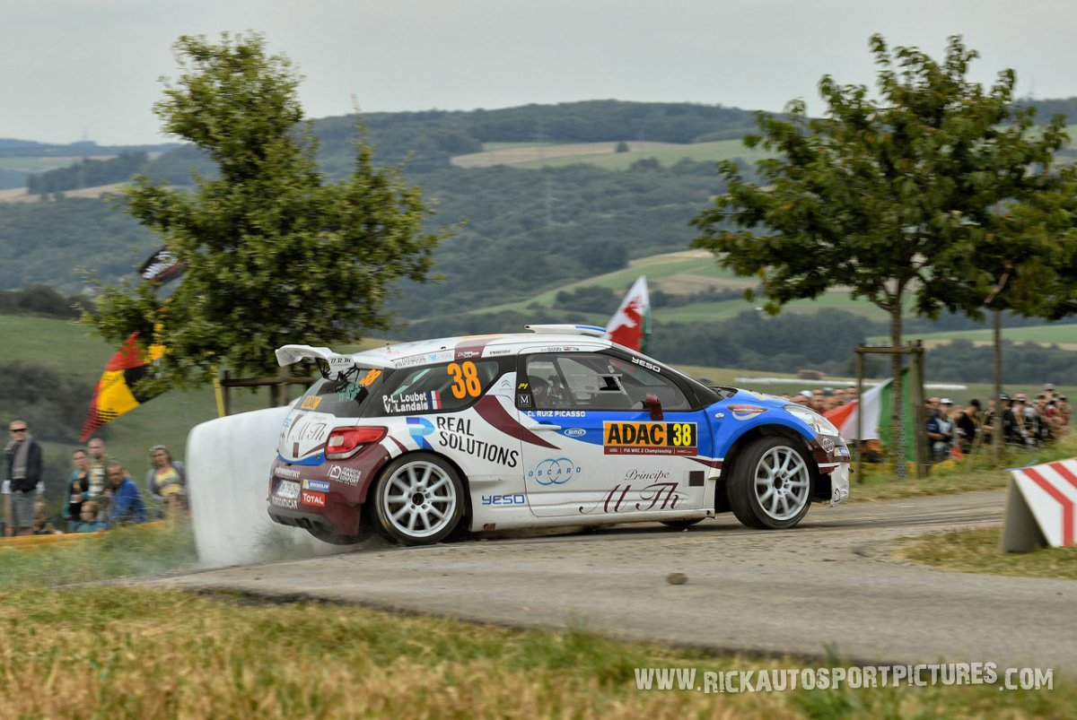 Pierre-Louis Loubet Deutschland Rally 2016
