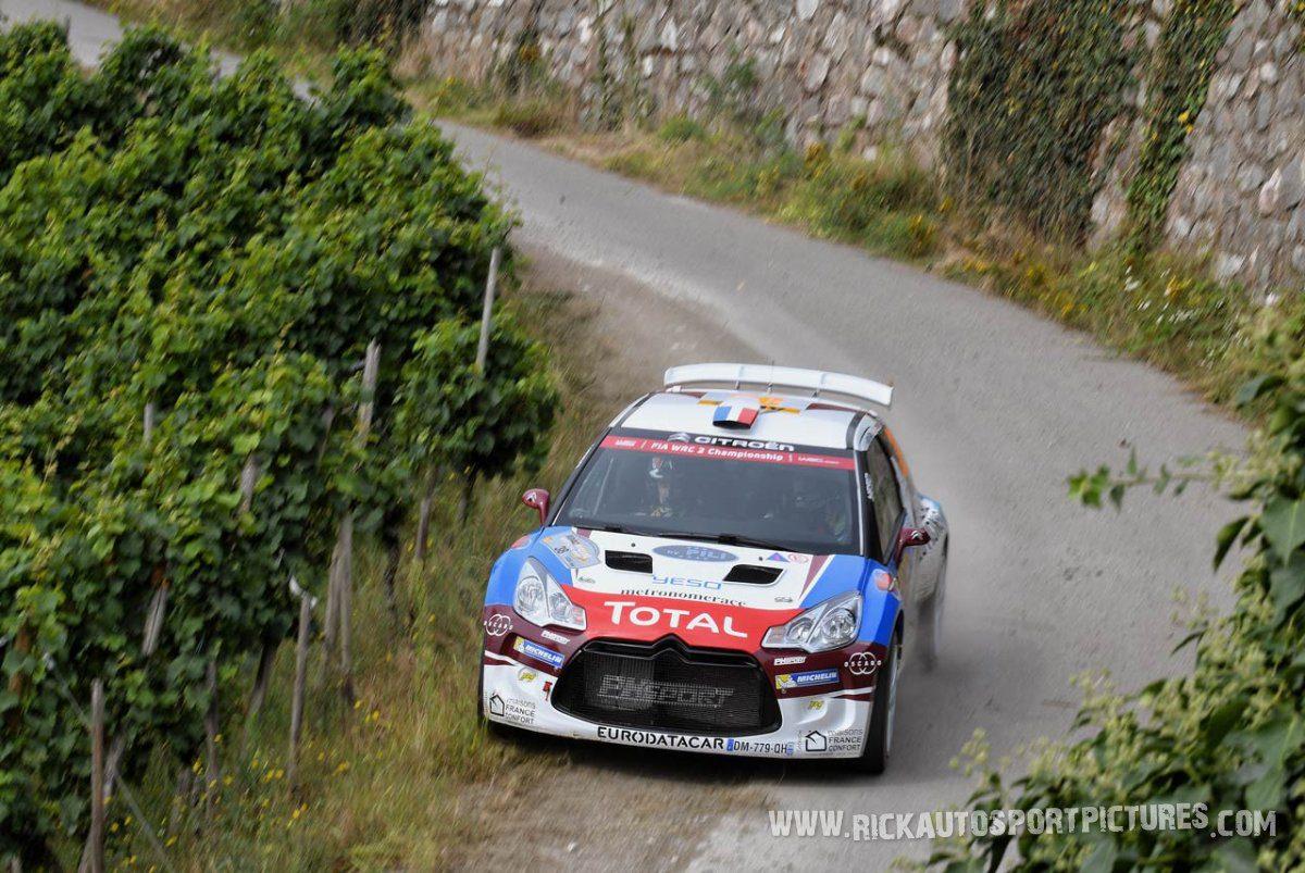 Pierre-Louis Loubet Deutschland Rally 2016