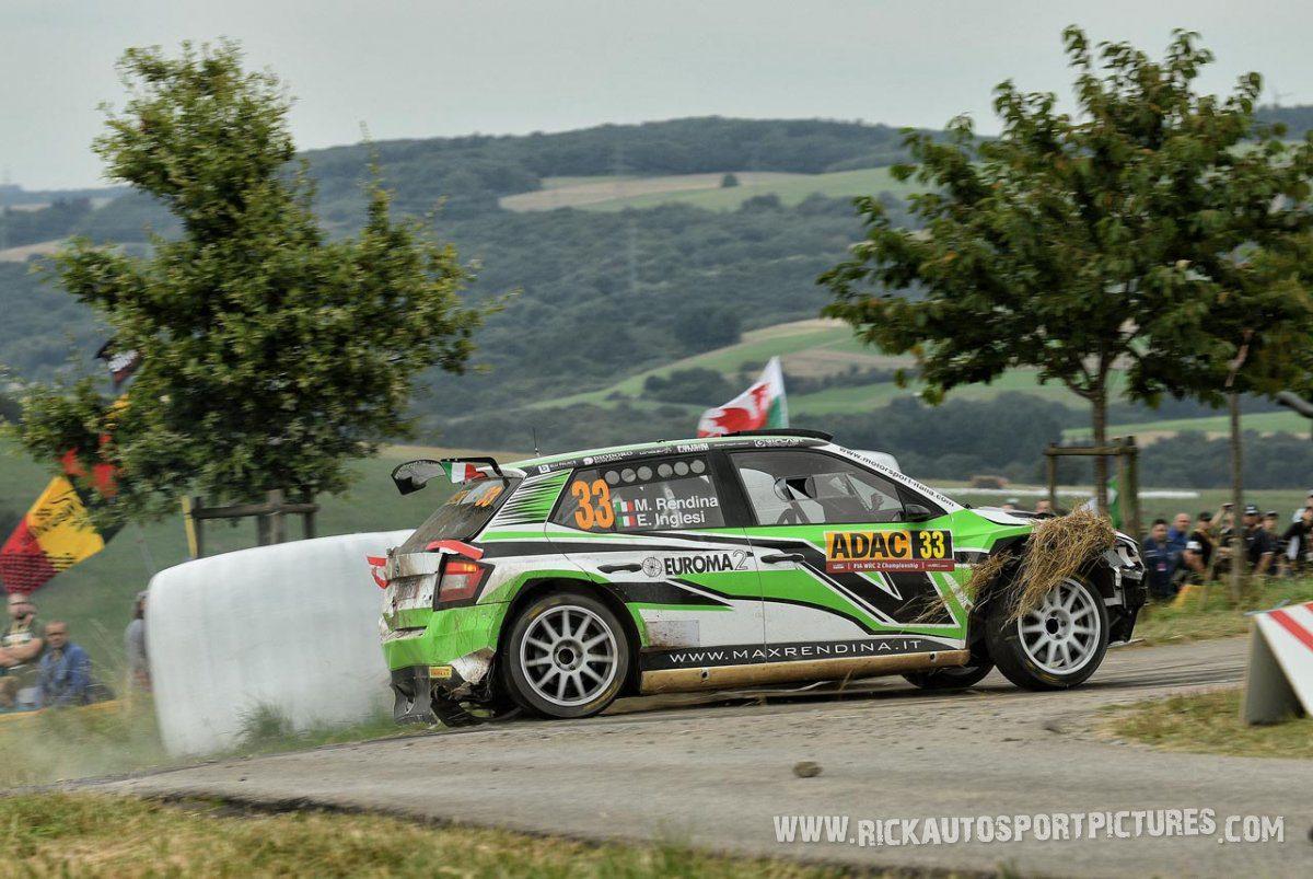 Max Rendina Deutschland Rally 2016