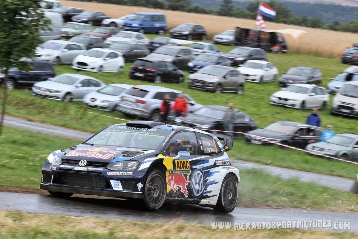 Sébastien Ogier Deutschland Rally 2016