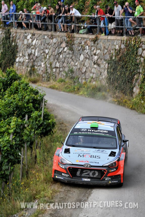 Hayden Paddon Deutschland Rally 2016