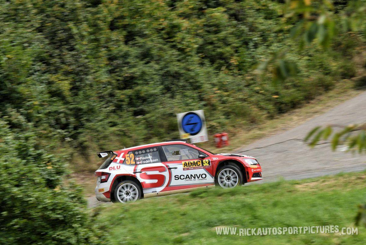 Kristian Poulsen Deutschland Rally 2016