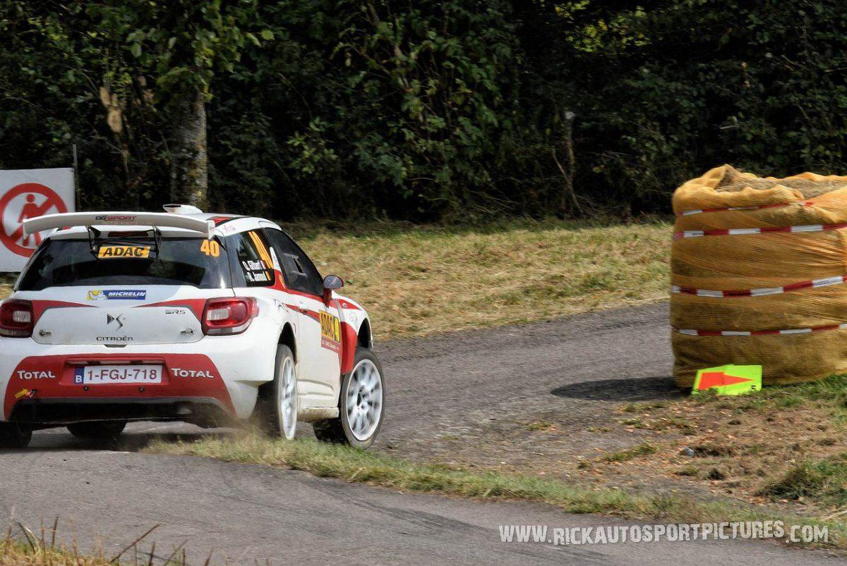 Quintin Gilbert Deutschland Rally 2016