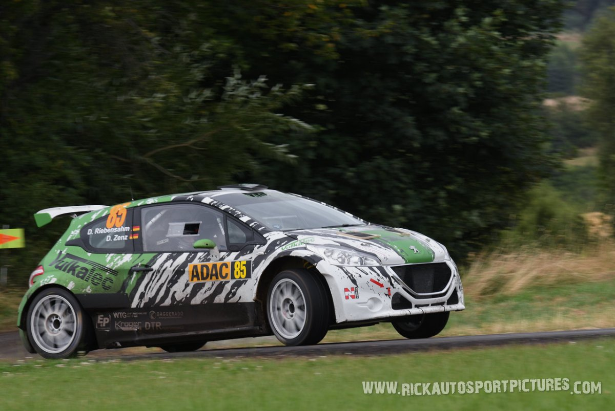 Dirk Riebensahn Deutschland Rally 2016