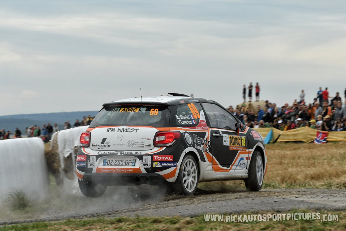 Romain Martel Deutschland Rally 2016