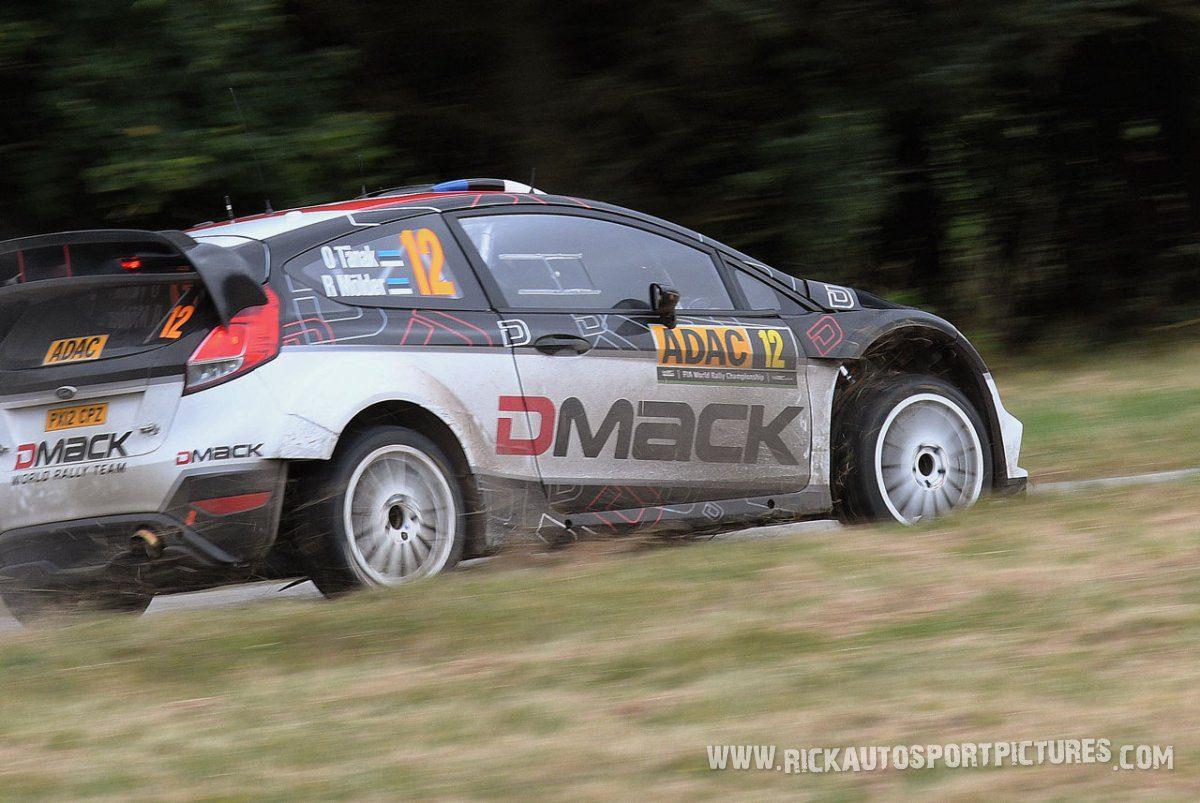 Ott Tänak Deutschland Rally 2016