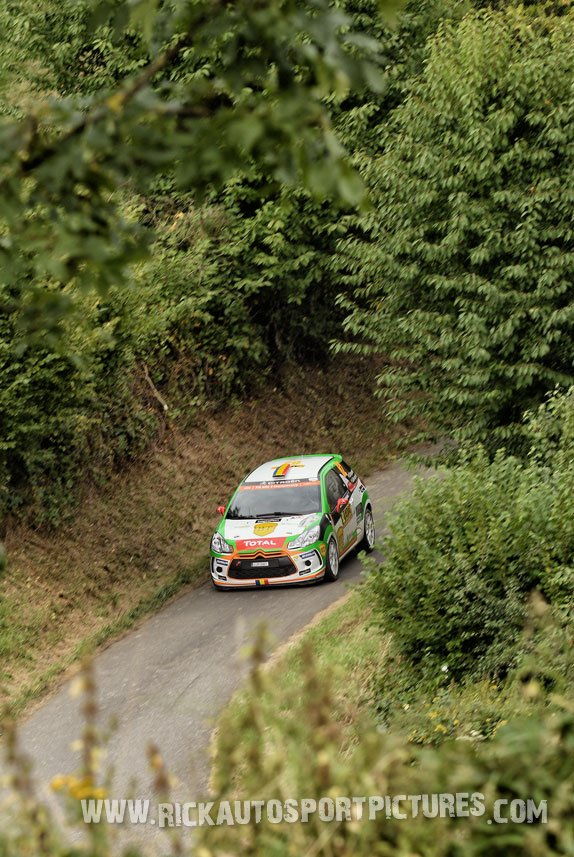 Simone Tempestini Deutschland Rally 2016