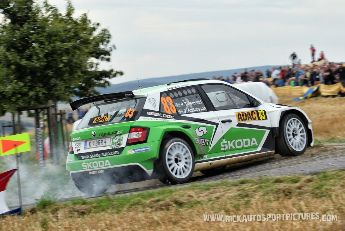 Pontus Tidemand Deutschland Rally 2016