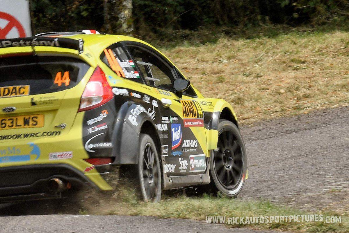 Frigyes Turán Deutschland Rally 2016