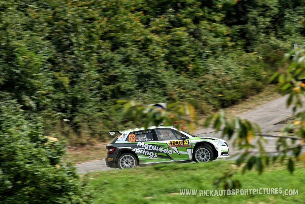 Mark van Eldik Deutschland Rally 2016