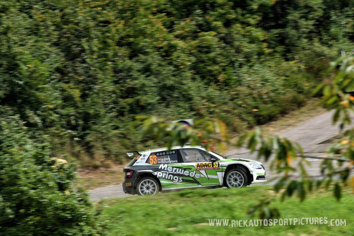 Mark van Eldik Deutschland Rally 2016