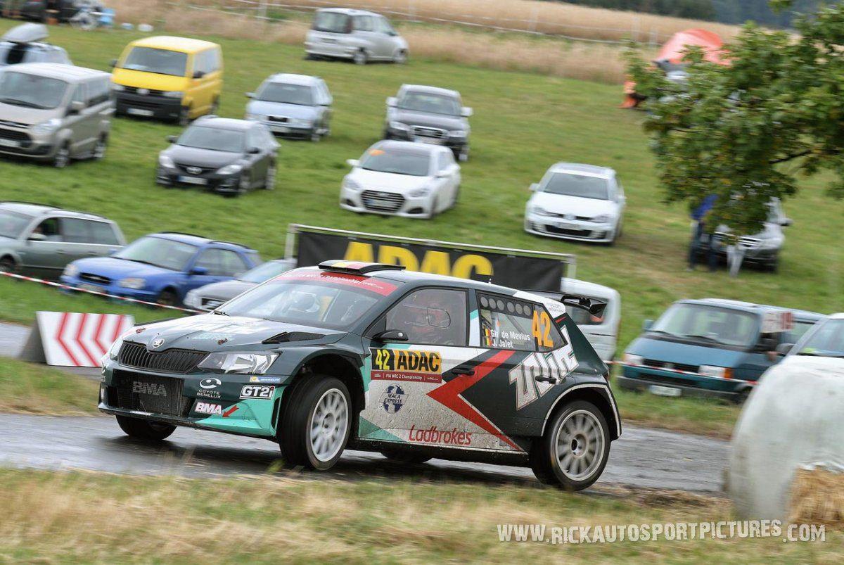 Ghislain de Mévius Deutschland Rally 2016