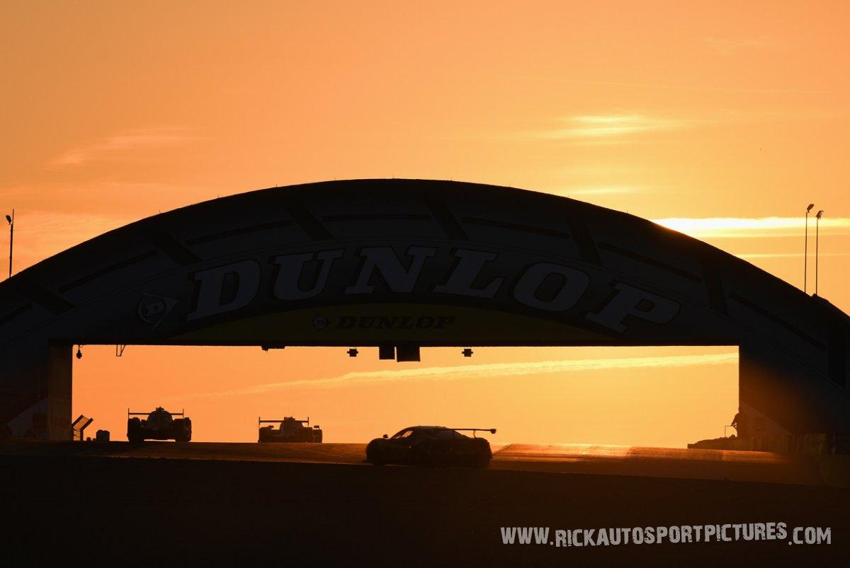 Le Mans at dawn 2017
