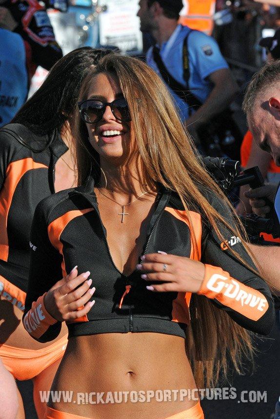 G-Drive girl Le Mans 2017