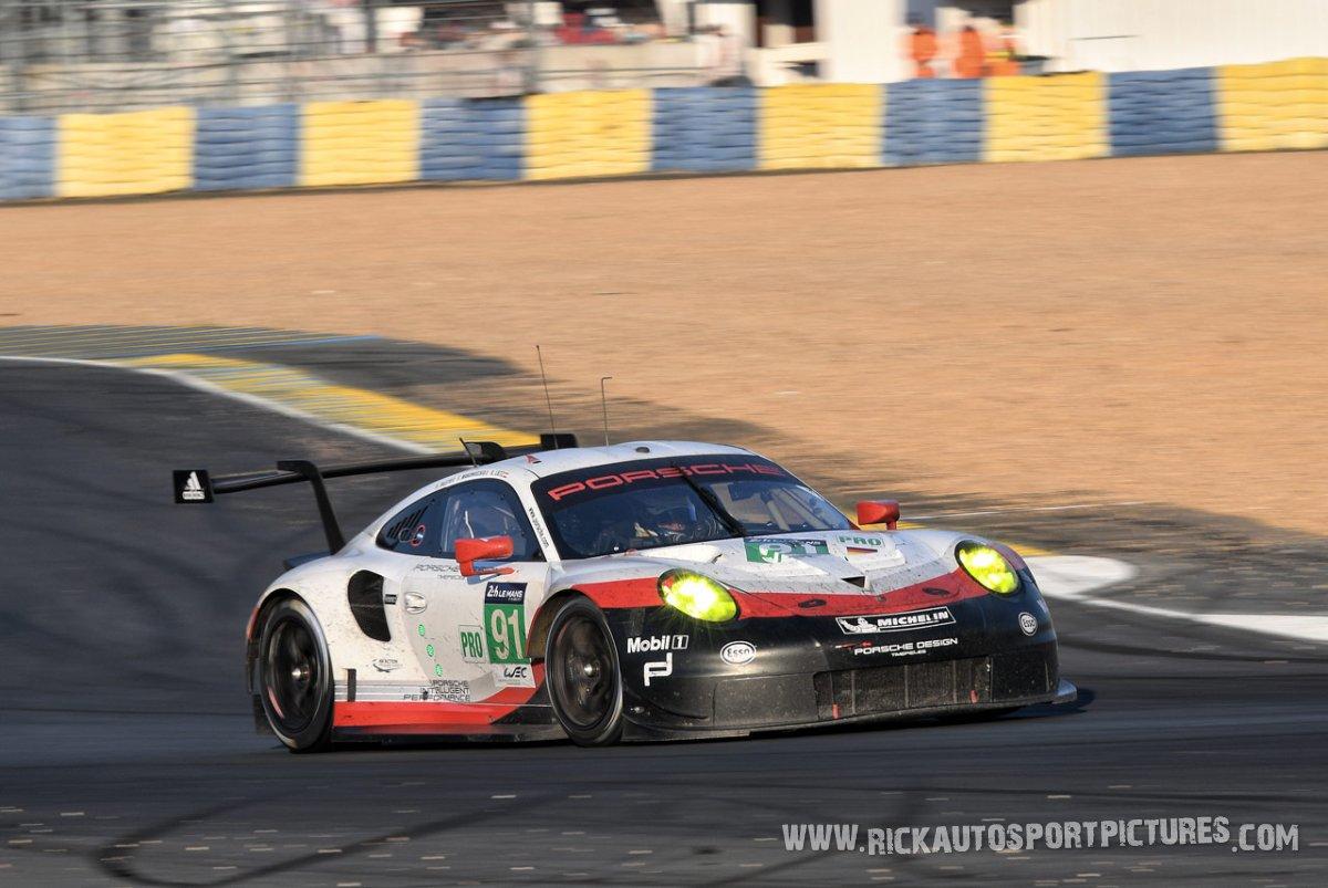 Porsche GT Team Le Mans 2017