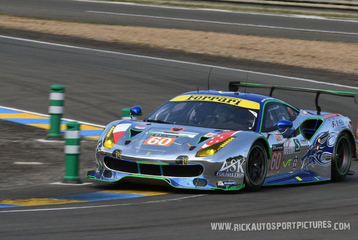 Clearwater Ferrari Le Mans 2017