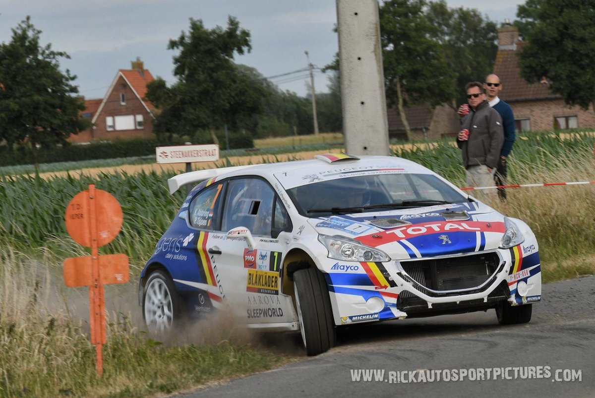 Kevin Abbring ypres ieper rally 2017
