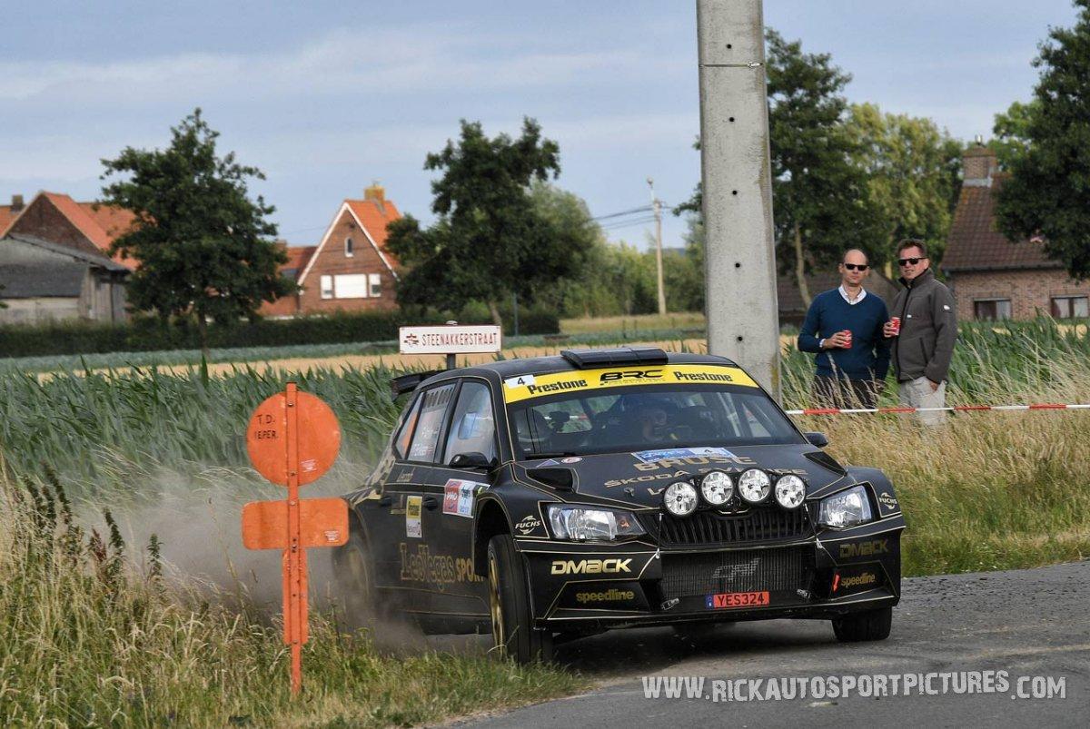 Fredrik Ahlin ypres ieper rally 2017