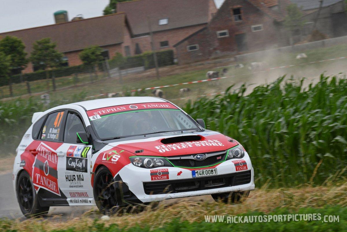 Mathias Boon ypres ieper rally 2017