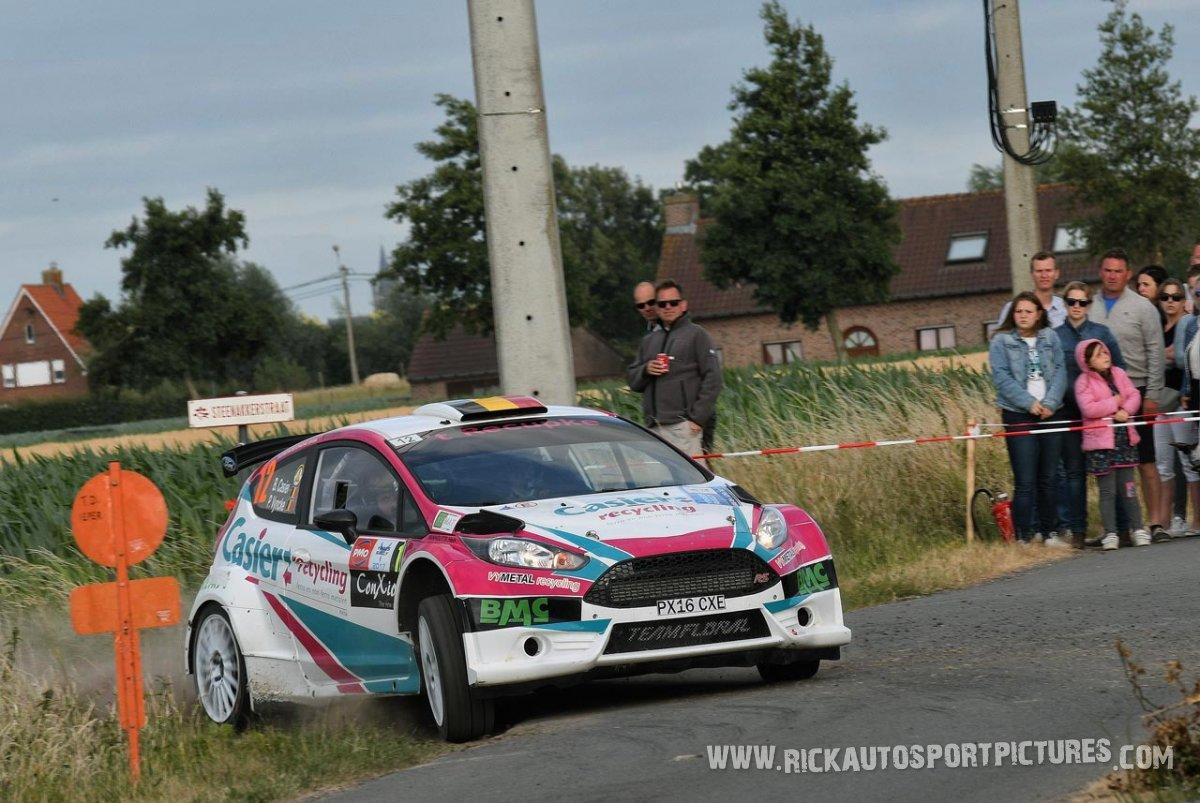 Bernd Casier & Pieter Vyncke, Team Floral Fiesta R5