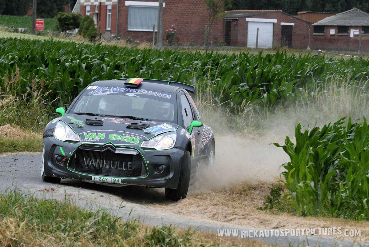 Bert Cornelis Ieper ypres Rally 2017