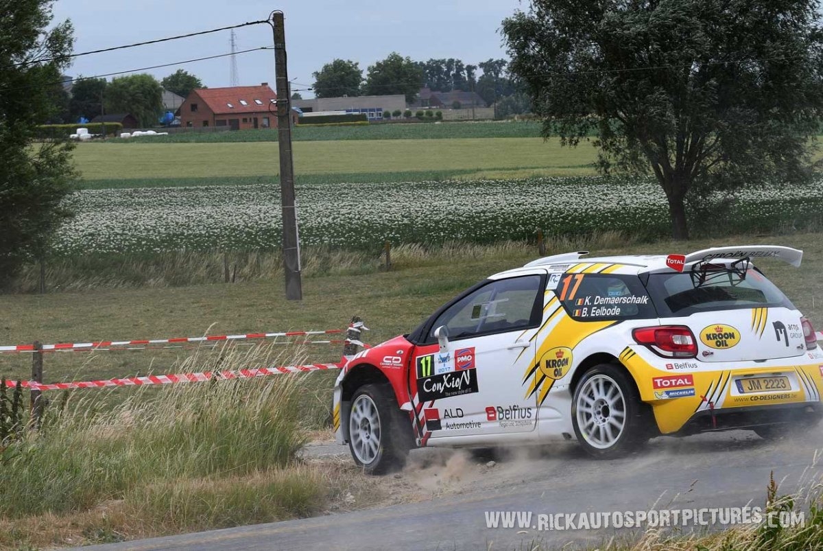 Kevin Demaerschalk ypres ieper rally 2017