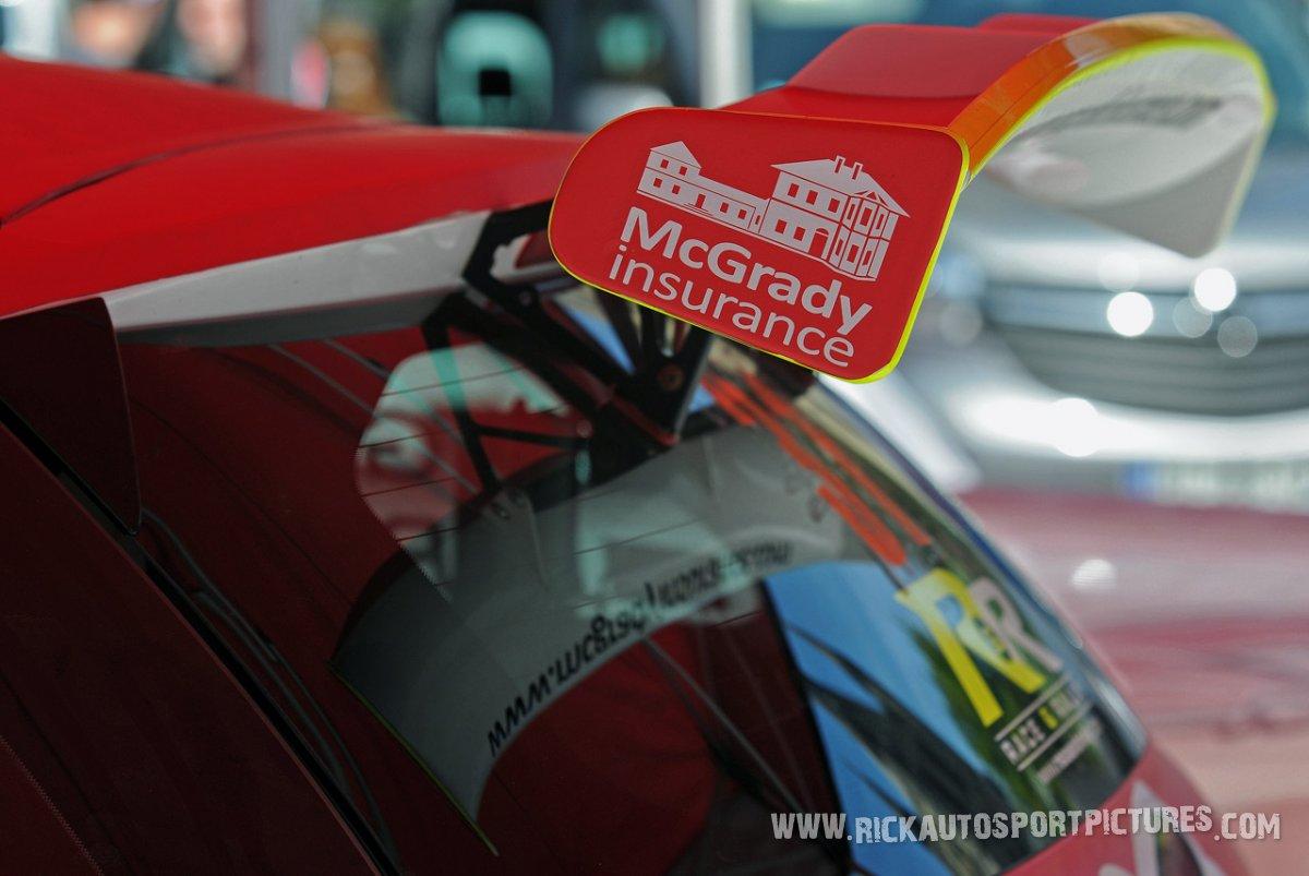 DGM Sport ypres ieper rally 2017
