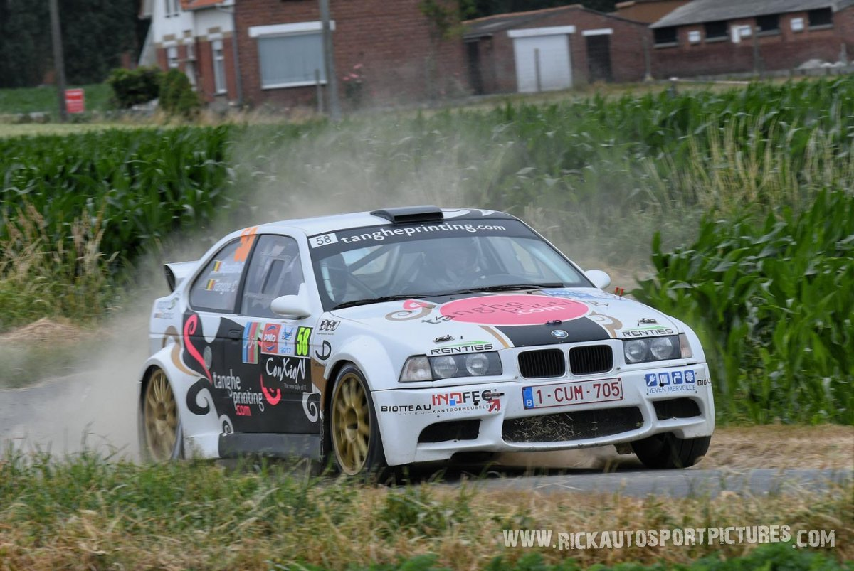 Claudie Thanghe ypres ieper rally 2017
