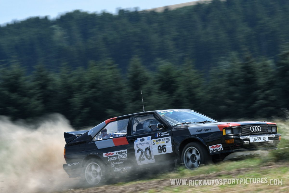 legend Audi Quattro Eifel Rallye 2017