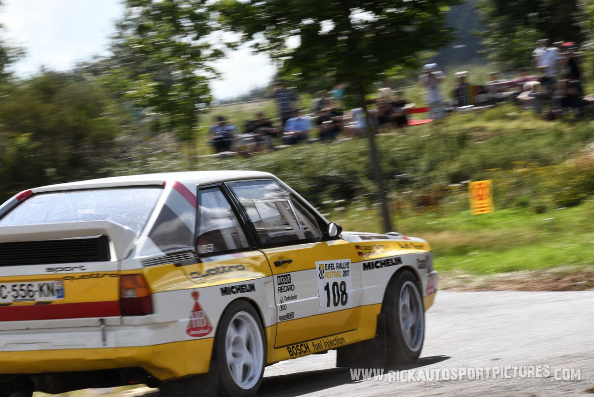 Legend Audi Sport Quattro Eifel Rallye 2017