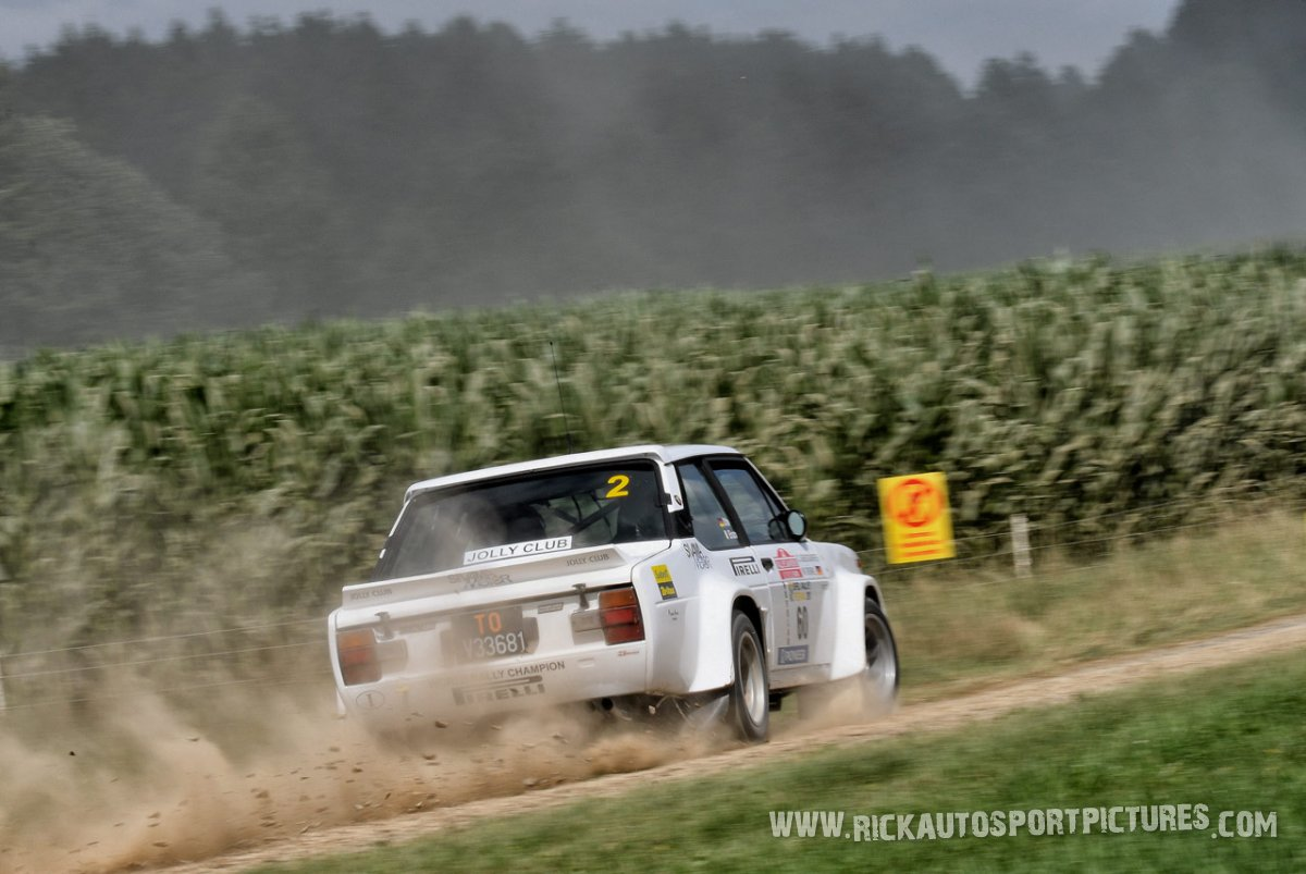 Legend Fiat 131 Abarth Eifel Rallye 2017