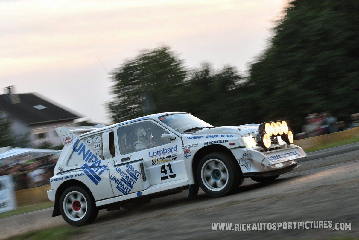 Legend MG Metro 6R4 Eifel Rallye 2017