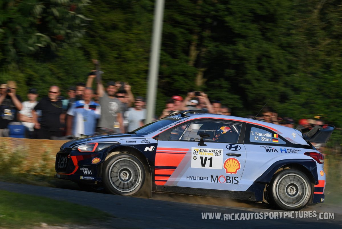 Legend Hyundai WRC Eifel Rallye 2017