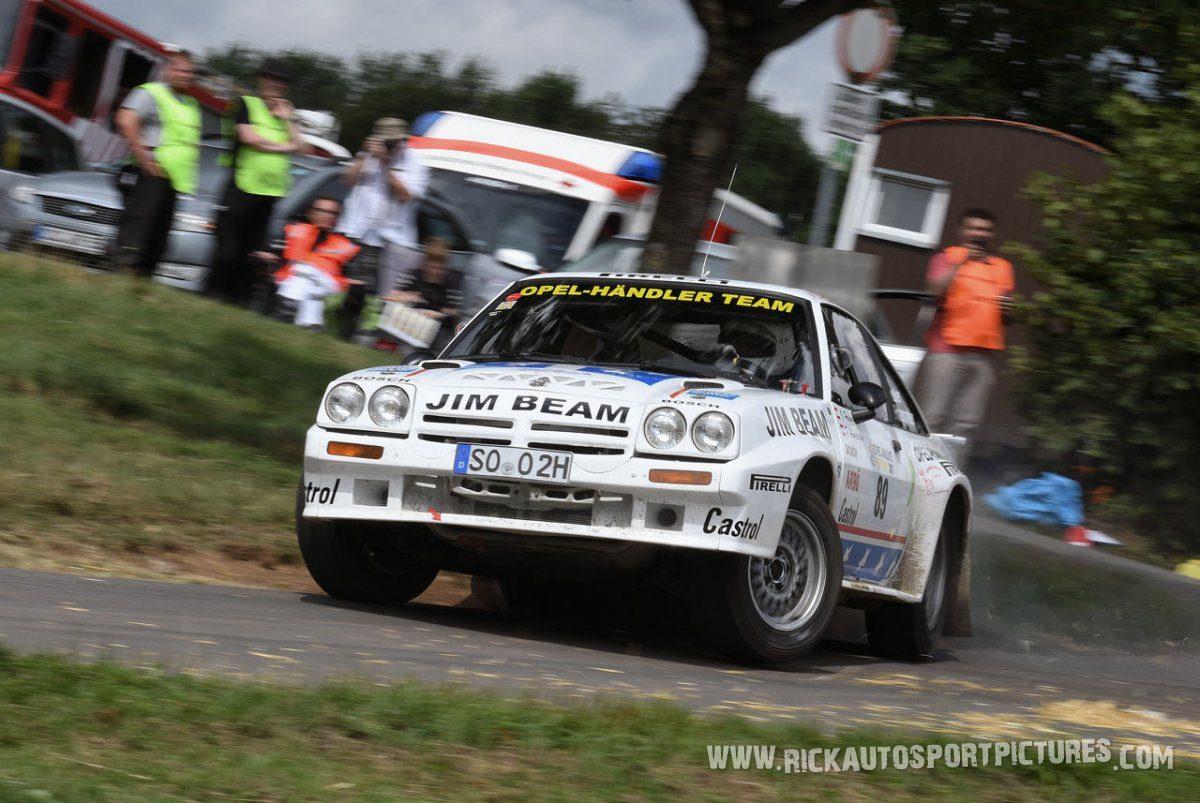 Legend Opel Manta 400 Eifel Rallye 2017