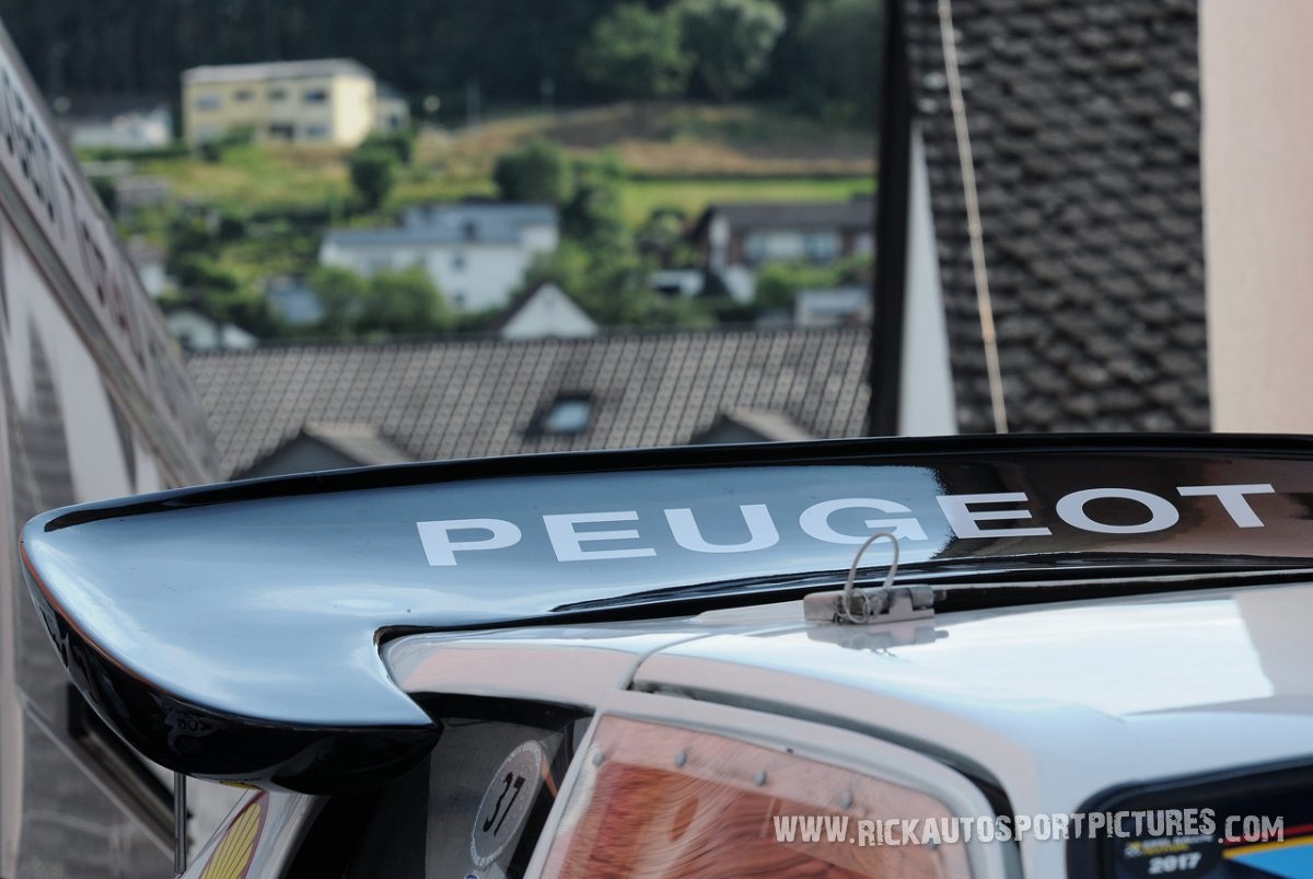 Legend Peugeot 205 T16 Eifel Rallye 2017
