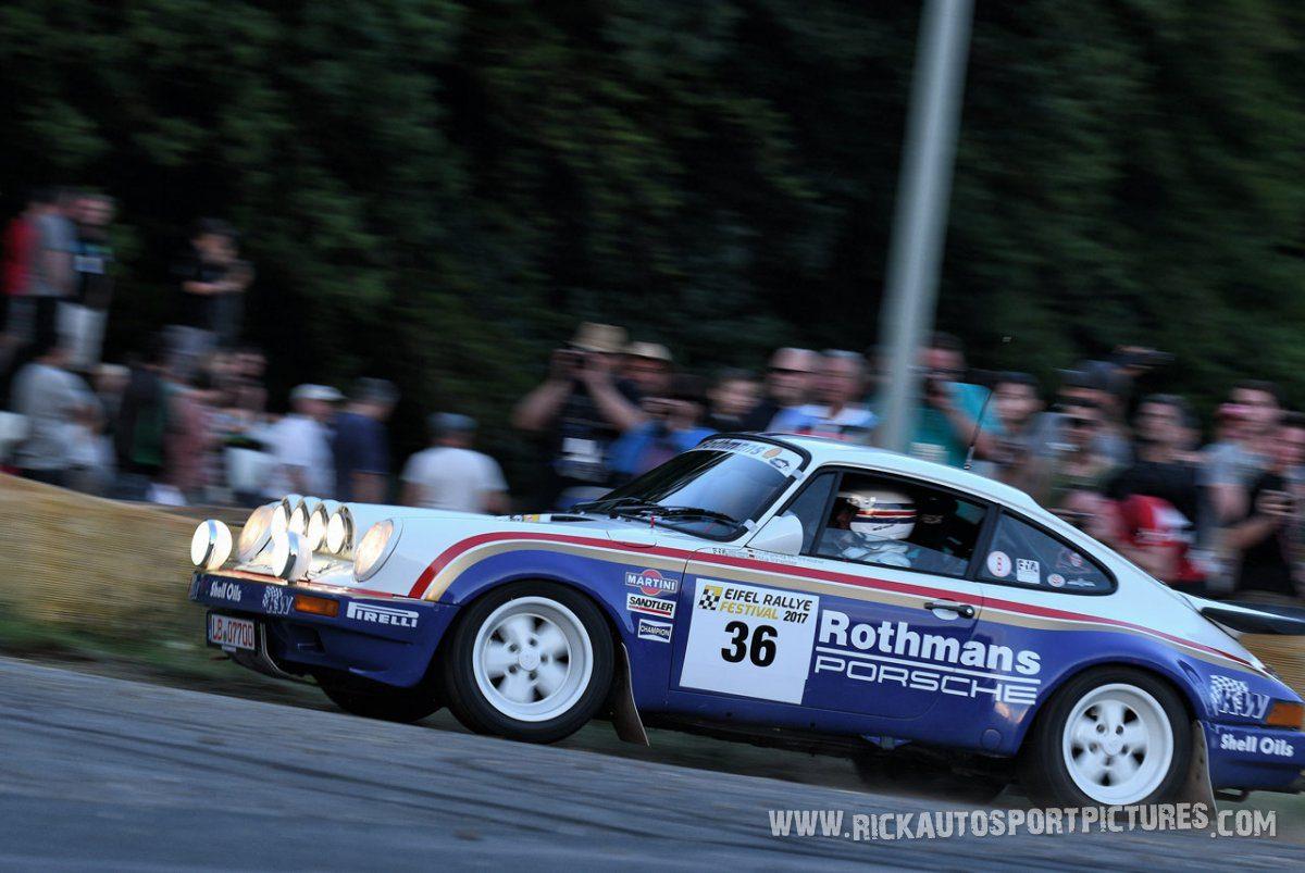 Legend Porsche 911 SCRS Eifel Rallye 2017